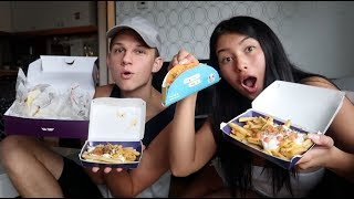 TACO BELL MUKBANG WITH CONNER | Karlee & Conner