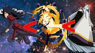 The DEFINITIVE Naruto Shippuden Power Scale