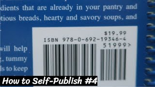 How To Self Publish | Video 4 of 5 | ISBN/Barcode & LCCN?