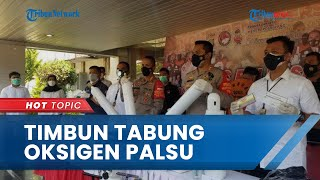 Penampakan Kamar Hotel Tempat Penimbunan Tabung Oksigen Palsu di Taman Sari, Dijual 10 Kali Lipat