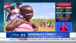 Baringo\'s finest: Girl from Kamalanget village in Baringo lights up the internet