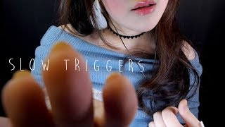 ASMR All of Slow Triggers for Relaxation and Sleep 🌙 느린소리
