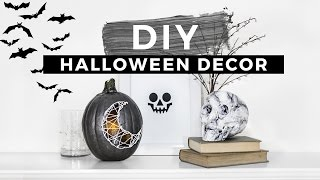 DIY Halloween Decorations Tumblr Inspired!