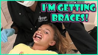 KAYLA GETS BRACES! | SEE HOW BRACES ARE DONE | We Are The Davises