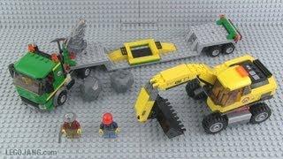 LEGO City Excavator Transport 4203 REVIEW!