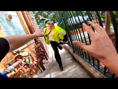 Parkour Escape From Security POV
