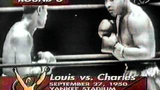 Joe Louis vs Ezzard Charles