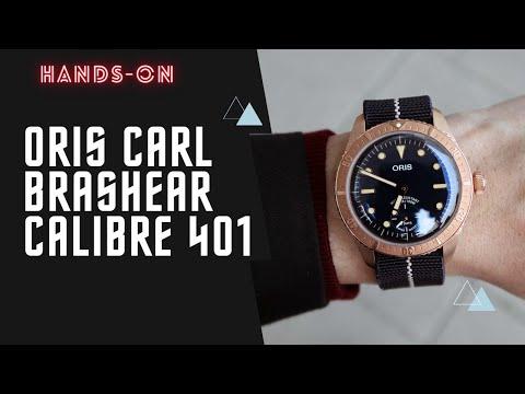 Oris Carl Brashear Cal.401 Limited Edition 01 401 7764 3185-Set