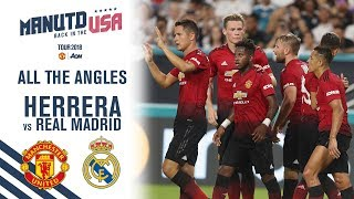 Manchester United Vs Real Madrid 2 0 Ander Herrera Goal