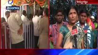 Grandly Held Cheruvugattu Jadala Ramalingeswara Jathara At Nalgonda Dist