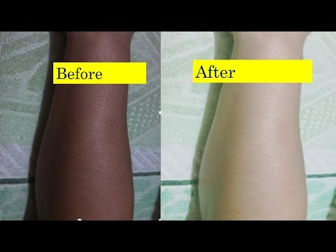How to Lighten Face and Body Skin Color in 5 Days,Magical Skin Whitener Pack
