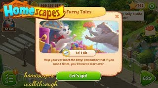 Homescapes Furry Tales Gameplay Walkthrough