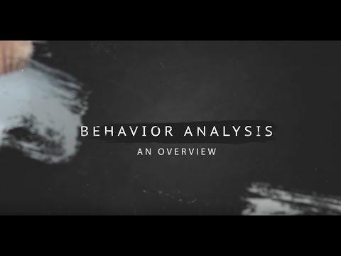 Behavior Analysis   An Overview
