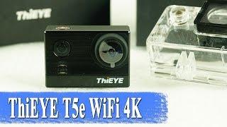 ThiEYE T5e WIFI 4K экшен камера 📹 на Ambarella - обзор и пример видео