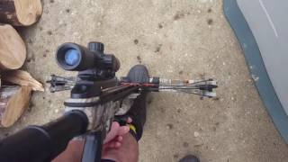 How to load and fire a crossbow