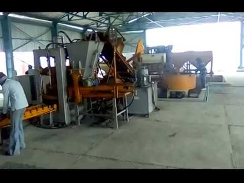 Automatic Concrete Brick & Block Making Machine