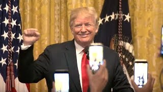 President Trump hosts the Hispanic Heritage Month Celebration. Sept. 17, 2018. White House.