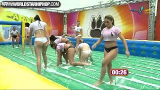Бразильский женский футбол!