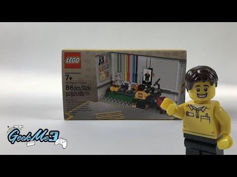 Vidéo LEGO Objets divers 5005358 : L'usine de figurines LEGO