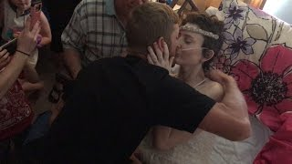 Bride With Terminal Cancer Gets Married While in Hospice Care