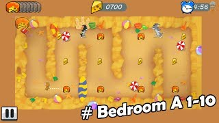 Tom and Jerry - Mouse Maze # Bedroom A 1-10