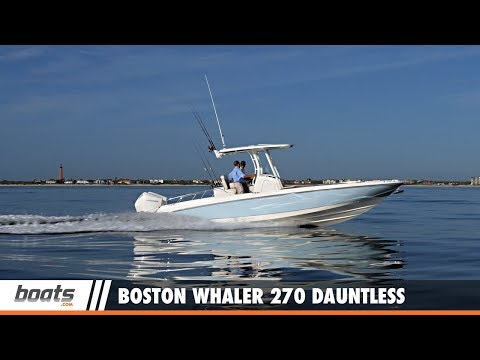 Boston Whaler 270 Dauntless video