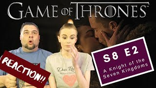 Game Of Thrones   S8 E2 'A Knight Of The Seven Kingdoms'   Reaction   Review