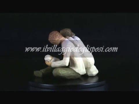 "Video - Cake topper linea Willow tree - ""New Life"""