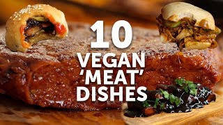 10 VEGAN MEAT DISHES | BOSH! | VEGAN