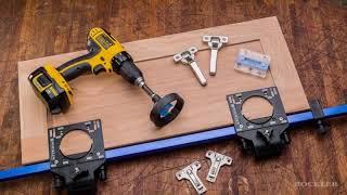 Кондуктор для врезки мебельных петель