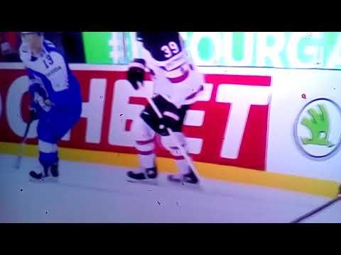 Словакия 5 - 6 Канада видео