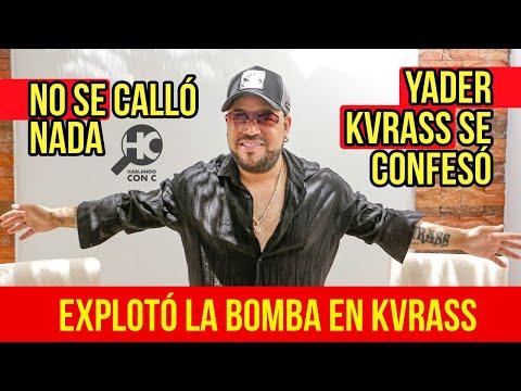 Confiesa Todo Lo Oscuro De Kvrass Yader Romero