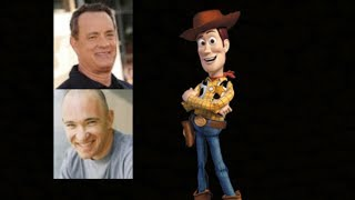 Animated Voice Comparison- Woody (Toy Story)