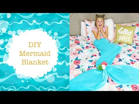 DIY Mermaid Tail Blanket For Kids | No Sew DIY Ideas | Kids Cooking And Crafts Mp3