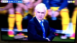 Vestel 55UA9400 4K Smart TV Futbol Görüntüsü