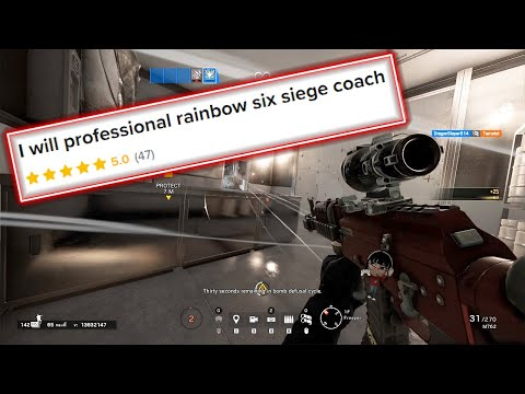 I hired a TOP 50 Rainbow Six Siege player as a Coach on Fiverr and here's what happened