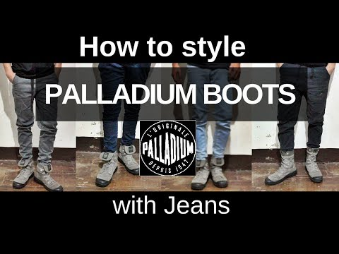 Palladium boots | How to style
