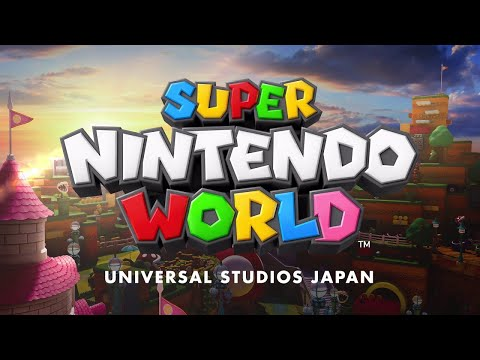 SUPER NINTENDO WORLD LOOKS SO COOL!