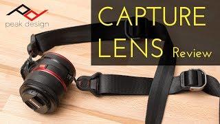 REVIEW: Peak Design Capture Lens Review (with Capture Clip)