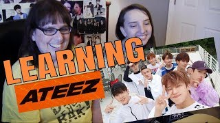 REACTION TO A Somewhat Useful Guide To ATEEZ Plus MORE | LEARNING ATEEZ