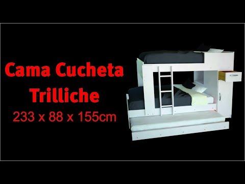 INSTRUCTIVO DE ARMADO - CUCHETA TRILICHE - MOSCONI