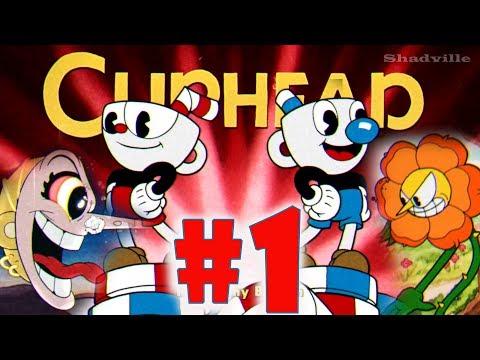 Cuphead Прохождение игры #1: Чашкоголовый. Первый мир
