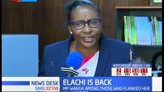 Elachis' comeback: Beatrice Elachi  defies the pressure, stays put in her office