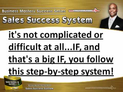 Victor Holman – Sales Success System