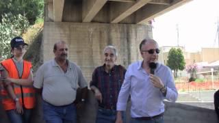 preview picture of video 'Scaletta Zanclea. Gli alunni della scuola Media F. Giacobbe  visitano i cantieri del Genio Civile'