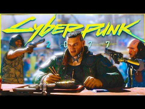 Трейлер Cyberpunk 2077 не оправдал надежд? Обзор будущего игры Киберпанк 2077! (видео)