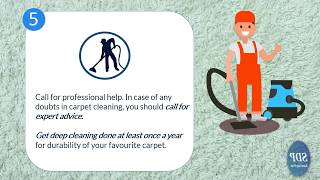 5 Steps for Effective Carpet Cleaning