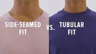 Best T-Shirt Fit — Side Seamed VS. Tubular