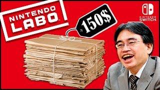 NINTENDO LABO - 2 ПАЧКИ КАРТОНА ЗА 10 000 РУБЛЕЙ 🔫
