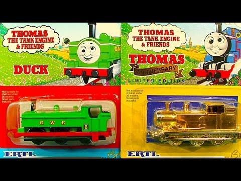 Thomas The Tank Gold ERTL NOT Mint In Box E-Bay Fools Gold